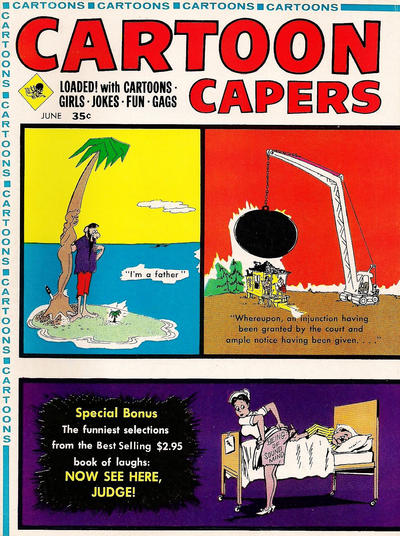 Cover for Cartoon Capers (Marvel, 1966 series) #v3#3