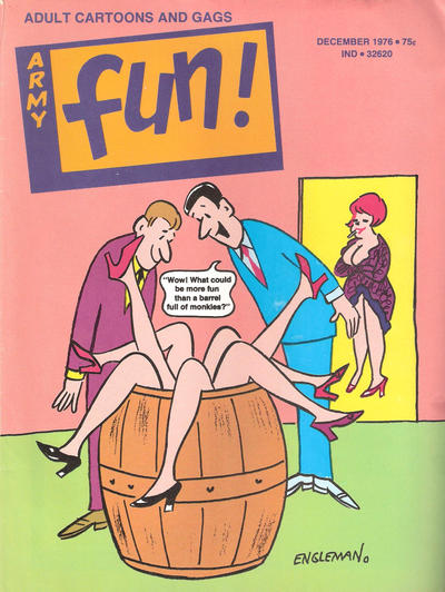 Cover for Army Fun (Prize, 1952 series) #v13#6
