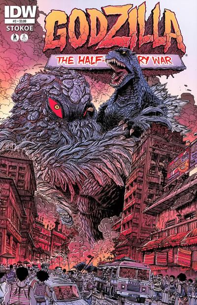 Cover for Godzilla: The Half-Century War (IDW, 2012 series) #3