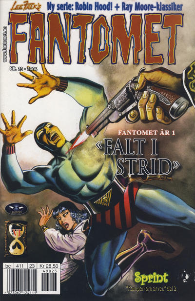 Cover for Fantomet (Egmont Serieforlaget, 1998 series) #23/2004