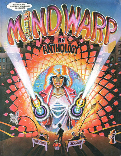 Cover for The Overland Vegetable Stagecoach Presents Mind Warp: An Anthology (And/Or Press, 1974 series)