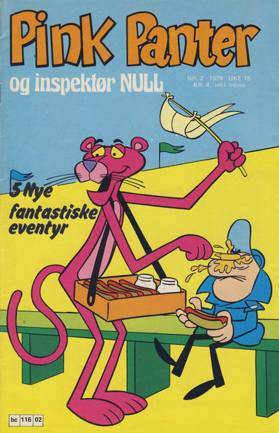Cover for Pink Panter (Semic, 1977 series) #2/1979