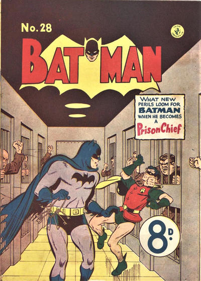 Cover for Batman (K. G. Murray, 1950 series) #28