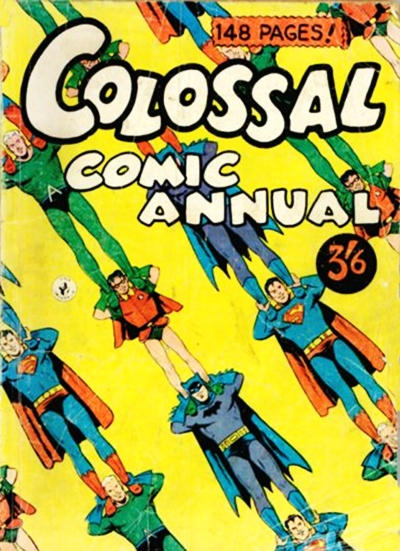 Cover for Colossal Comic Annual (1956 series) #1