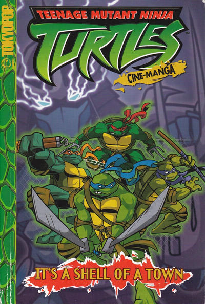 Cover for Teenage Mutant Ninja Turtles: It's a Shell of a Town (Tokyopop, 2004 series) #[nn]
