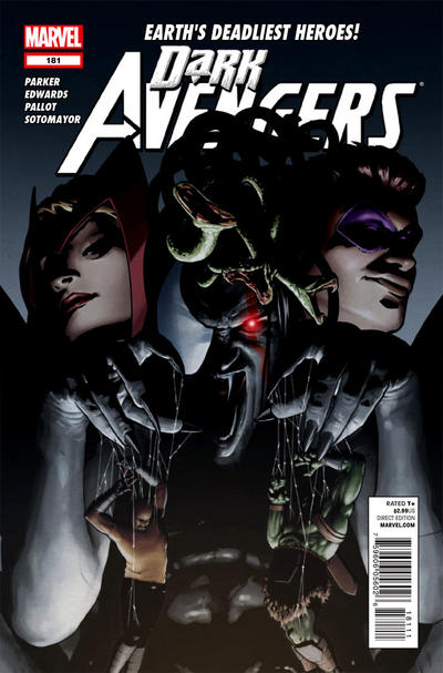 Cover for Dark Avengers (Marvel, 2012 series) #181