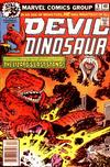Cover for Devil Dinosaur (Marvel, 1978 series) #9
