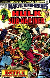 Cover for Marvel Super-Heroes (Marvel, 1967 series) #51