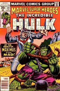Cover Thumbnail for Marvel Super-Heroes (Marvel, 1967 series) #72