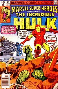 Cover Thumbnail for Marvel Super-Heroes (Marvel, 1967 series) #83