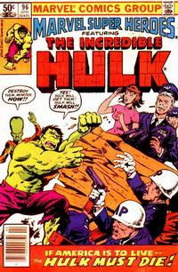 Cover for Marvel Super-Heroes (Marvel, 1967 series) #96
