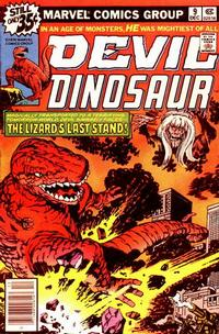 Cover Thumbnail for Devil Dinosaur (Marvel, 1978 series) #9