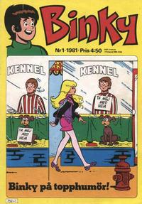 Cover Thumbnail for Binky (Semic, 1976 series) #1/1981