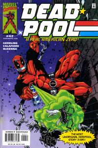 Cover Thumbnail for Deadpool (Marvel, 1997 series) #42 [Direct Edition]