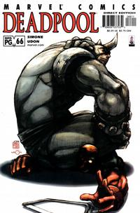 Cover Thumbnail for Deadpool (Marvel, 1997 series) #66 [Direct Edition]