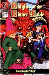 Cover Thumbnail for Knights of the Dinner Table (Kenzer and Company, 1997 series) #28