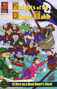 Cover Thumbnail for Knights of the Dinner Table (Kenzer and Company, 1997 series) #37