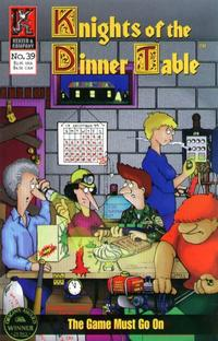 Cover Thumbnail for Knights of the Dinner Table (Kenzer and Company, 1997 series) #39
