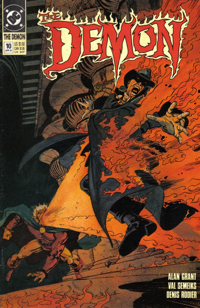 Cover for The Demon (1990 series) #10