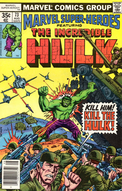 Cover for Marvel Super-Heroes (Marvel, 1967 series) #73