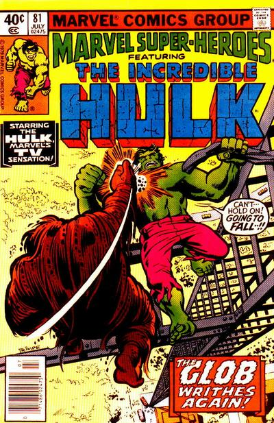 Cover for Marvel Super-Heroes (Marvel, 1967 series) #81 [Newsstand Edition]