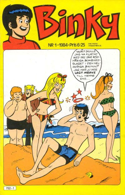 Cover for Binky (Semic, 1976 series) #1/1984