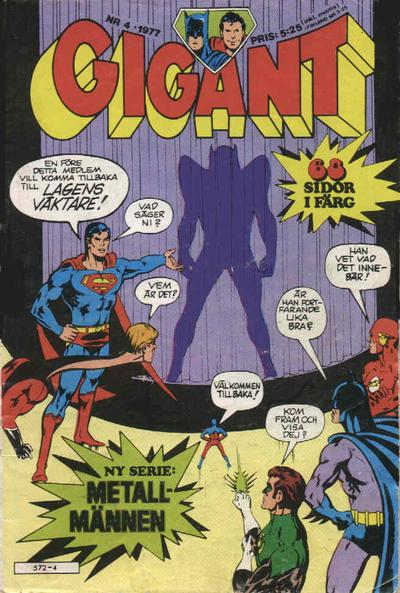 Cover for Gigant (1976 series) #4/1977