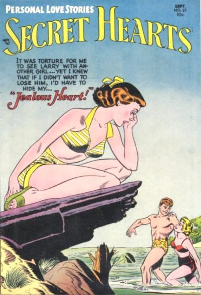 Cover for Secret Hearts (DC, 1949 series) #23