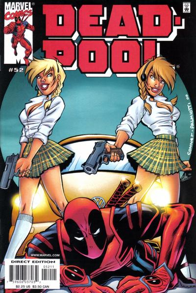 Cover for Deadpool (Marvel, 1997 series) #52 [Direct Edition]