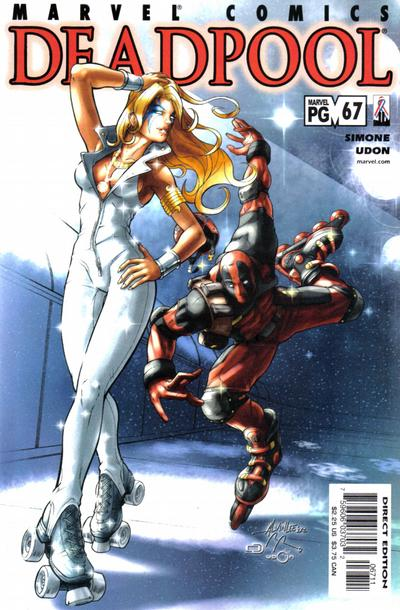 Cover for Deadpool (Marvel, 1997 series) #67 [Direct Edition]