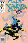 Cover Thumbnail for Classic X-Men (1986 series) #33 [Newsstand Edition]