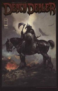 Cover Thumbnail for Frank Frazetta's Death Dealer (Image, 2007 series) #1 [Certified Gold Stamp Cover]