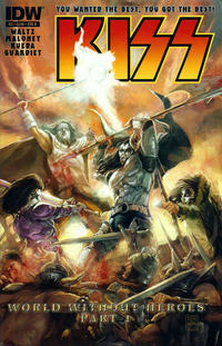 Cover Thumbnail for Kiss (IDW, 2012 series) #3 [Cover B by Xermánico]