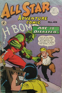 Cover Thumbnail for All Star Adventure Comic (K. G. Murray, 1959 series) #49