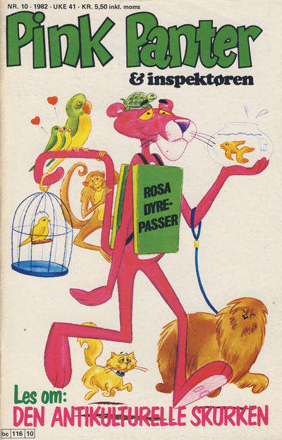 Cover for Pink Panter (Semic, 1977 series) #10/1982