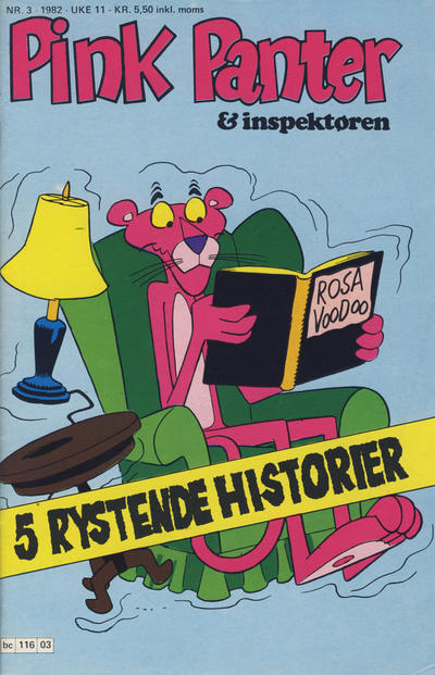 Cover for Pink Panter (Semic, 1977 series) #3/1982