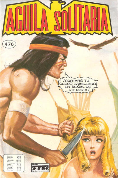 Cover for Aguila Solitaria (1976 ? series) #476