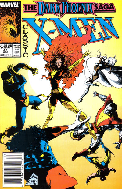 Cover for Classic X-Men (1986 series) #41 [Newsstand Edition]