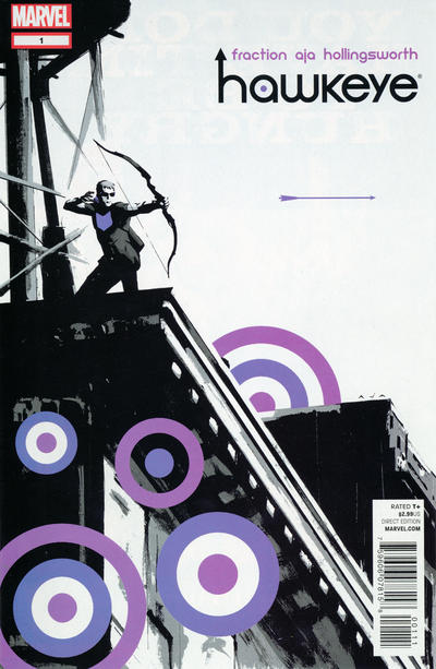 Cover for Hawkeye (2012 series) #1 [Adi Granov variant]