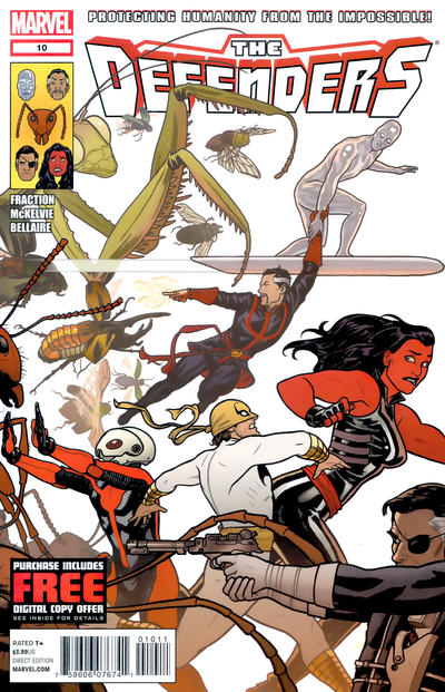 Cover for Defenders (Marvel, 2012 series) #10