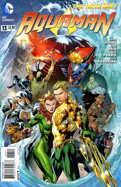 Cover for Aquaman (2011 series) #13