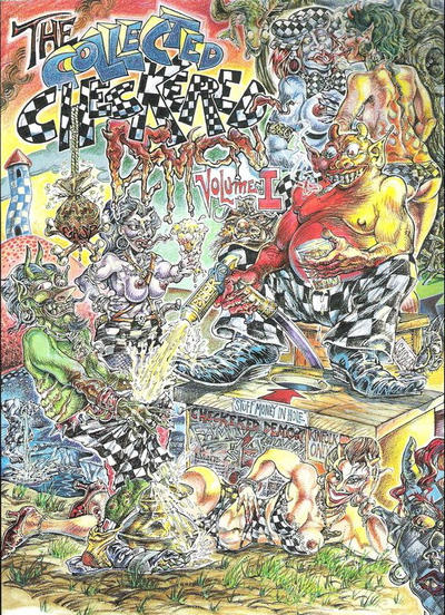 Cover for The Collected Checkered Demon (Last Gasp, 1998 series) #1