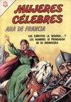 Cover for Mujeres Célebres (Editorial Novaro, 1961 series) #61