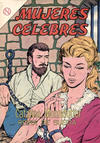 Cover for Mujeres Célebres (Editorial Novaro, 1961 series) #37