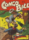 Cover for The Adventures of Congo Bill (K. G. Murray, 1954 series) #5