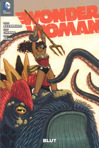 Cover Thumbnail for Wonder Woman (Panini Deutschland, 2012 series) #1 - Blut [Variant-Cover-Edition]