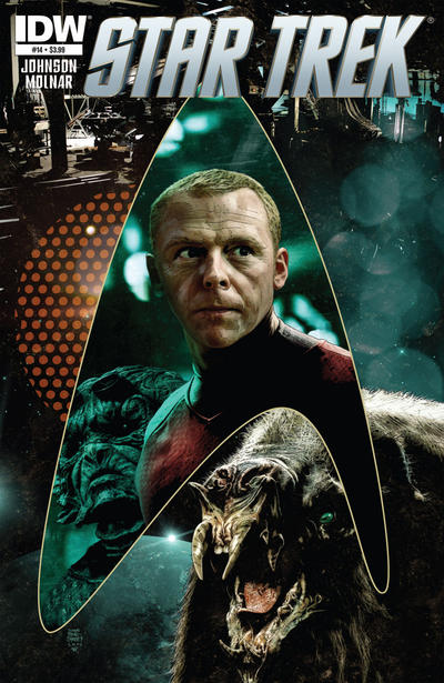 Cover for Star Trek (2011 series) #14