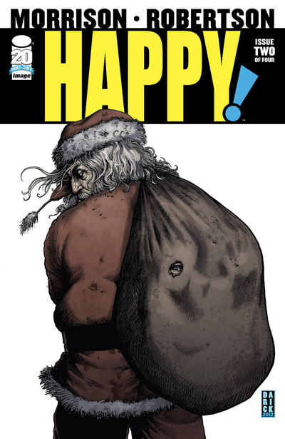Cover for Happy! (2012 series) #2 [Second Printing]