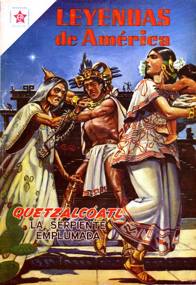 Cover for Leyendas de América (Editorial Novaro, 1956 series) #18