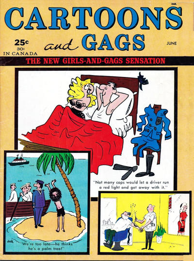 Cover for Cartoons and Gags (Marvel, 1959 series) #v9#3